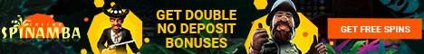 Spinamba Casino 50 Free Spins no deposit bonus exclusive